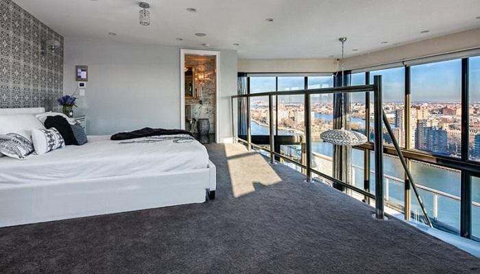 Frank Sinatra'nın Lüks Evi Yatak Odası