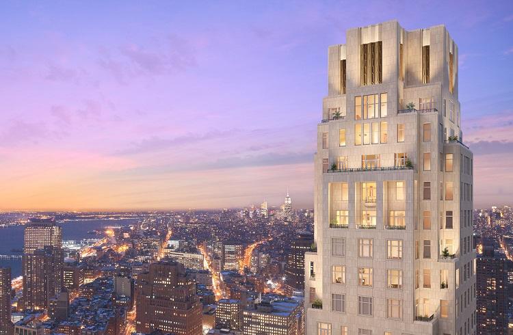 "Hem Konut Kulesi Hem de Otel Olarak Hizmet Veren: ""30 Park Place"""