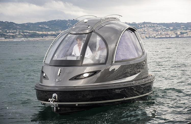 Lazzarini'nin 150 Bin Dolarlık Yeni Jet Capsule Tasarımı