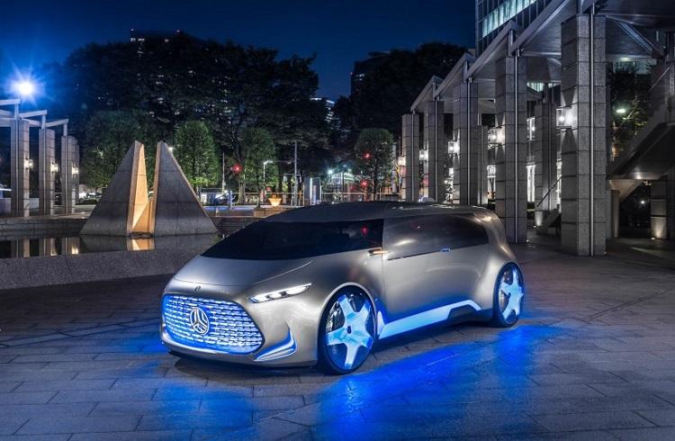 Mercedes Benz'in Yeni Sürücüsüz Otomobil Konsepti Vision Tokyo'yu Yakından Tanıyın!