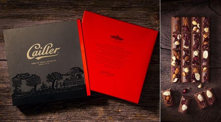 """Nestle'den İlk Süper Premium Çikolata """"Maison Cailler"""""""