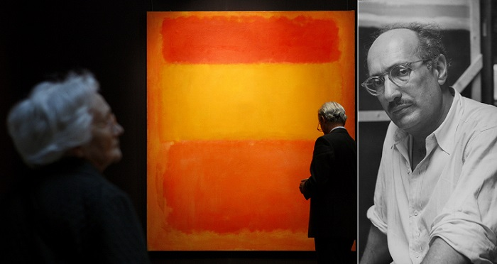 Orange, Red, Yellow - Mark Rothko