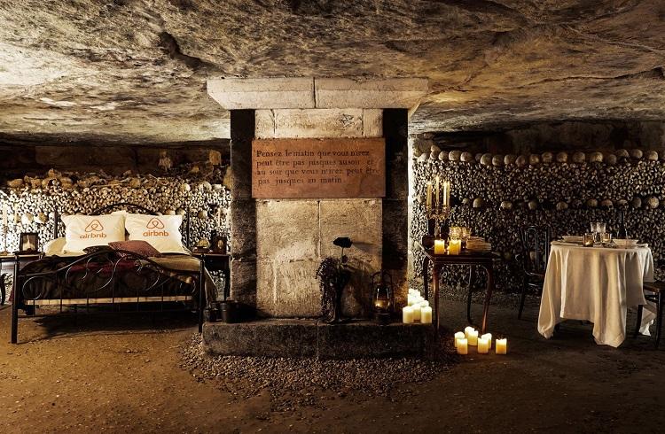 Paris Katakombları'nda Yaşanacak Lüks Cadılar Bayramı Gecesi