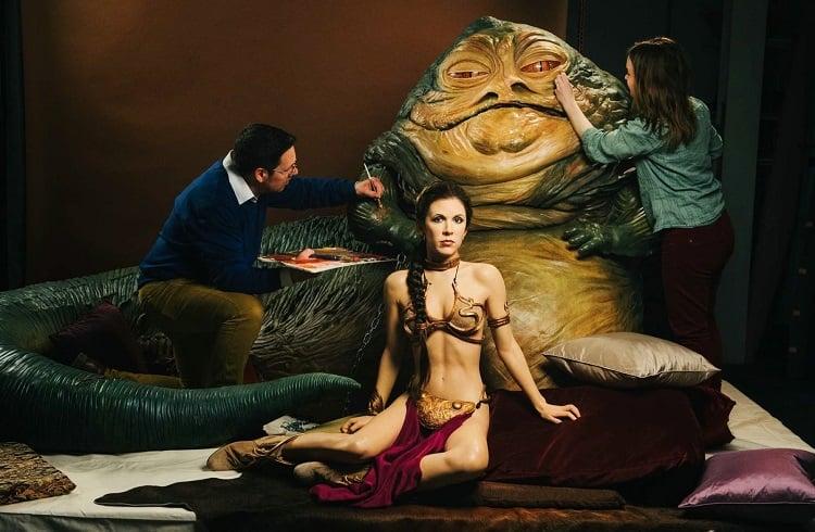 Star Wars'tan Prenses Leia'nın Altın Bikinisi 96 Bin Dolara Satıldı