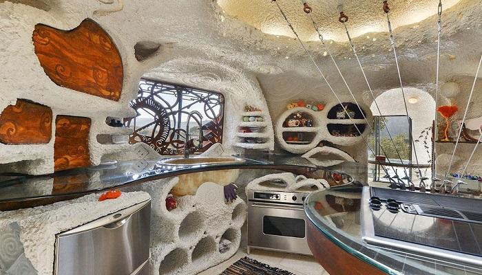 William Nicholson Tarafından Tasarlanan Flintstone House Mutfak