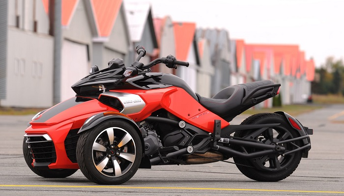 2015 Model Can Am F3 Spyder