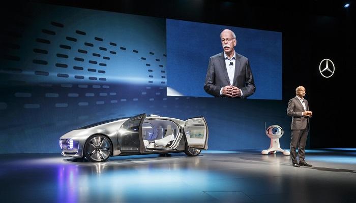 Mercedes F 015 – Self-Driving Otomobil