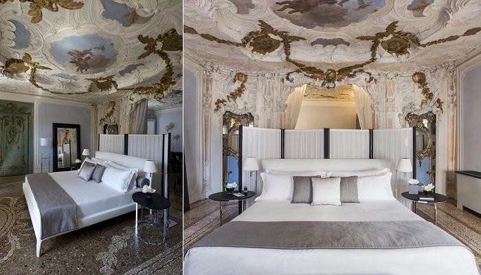 Aman Hotel Venıca'nın Büyüleyici Tasarımı Yatak Odası