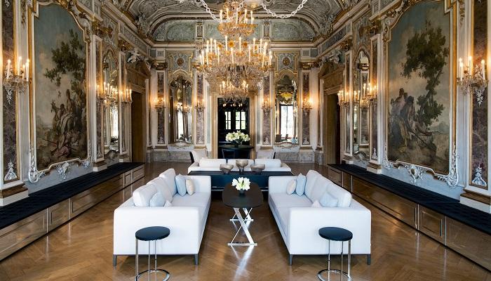 Aman Hotel Venıca'nın Büyüleyici Tasarımı Salon