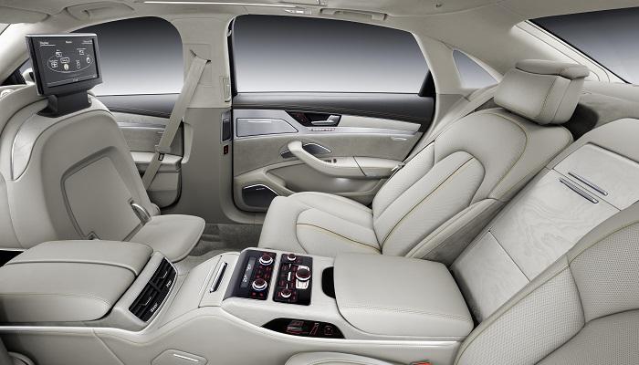 Audi A8 - Koltuk Tasarımı
