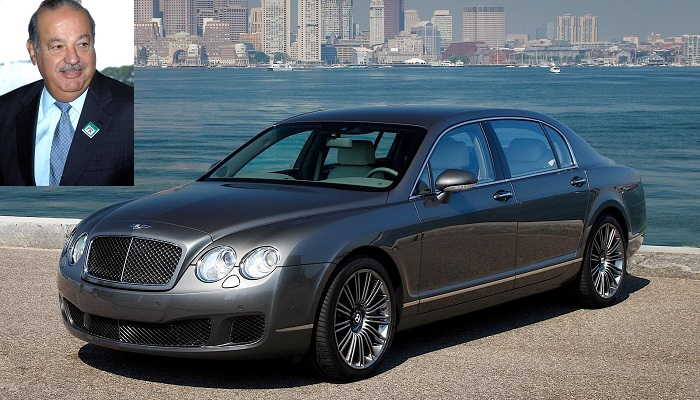 Carlos Slim Helu - Bentley Continental Flying Spur