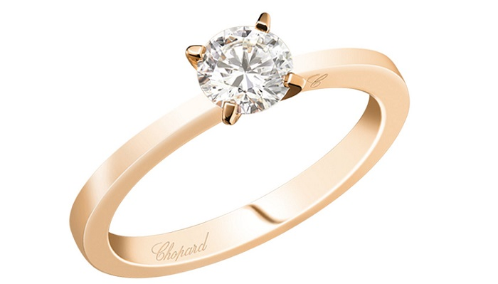 Chopard - For Ever Ring Pave