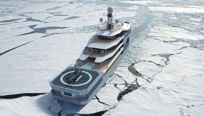 Damen Group SeaXplorer Mega Keşif Yatı