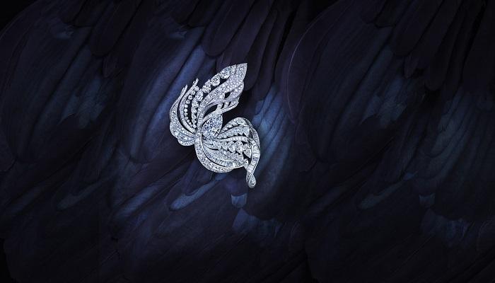 De Beers - Imaginary Nature Brooch, Poa