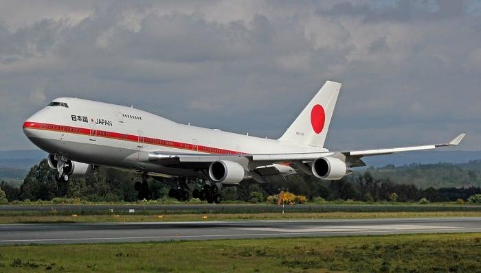 Boeing 747-400 - Japonya