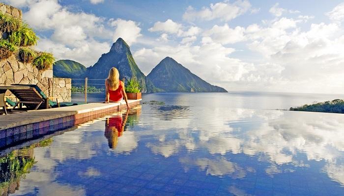 Karayipler'in İncisi Jade Mountain Saint Lucia'da Doğayla Baş Başa Tatil Keyfi