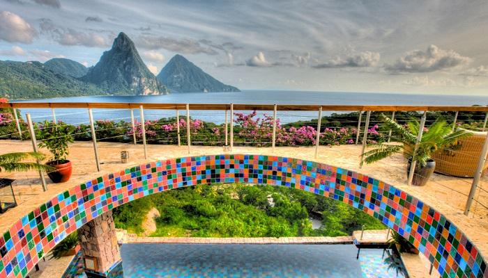 Jade Mountain Saint Lucia Tasarım