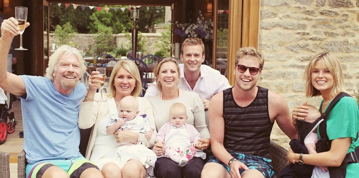 Richard Branson'un Aile Hayatı