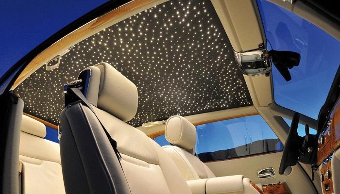 Rolls Royce - Yıldız Işığı Tavan Döşemesi