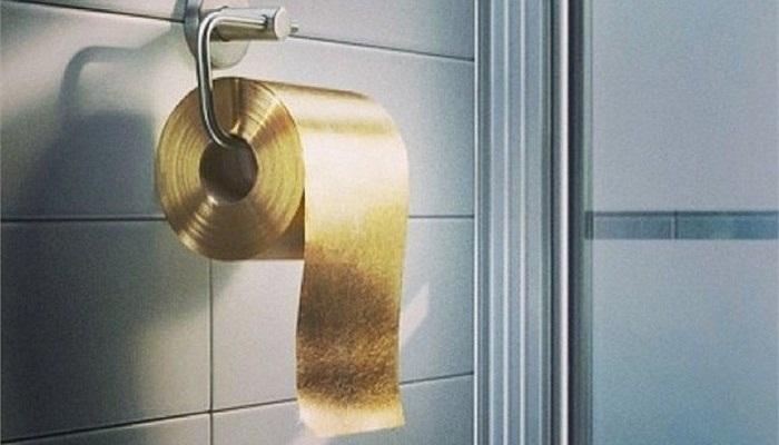 Altın Tuvalet Kağıdı