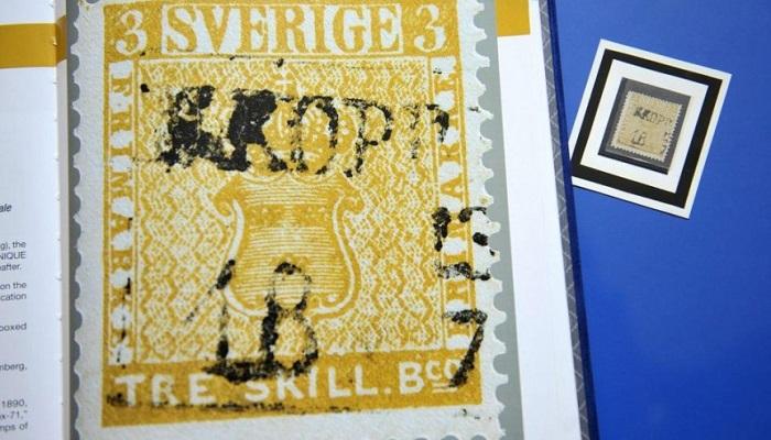 İsveç Pulu: Treskilling Yellow