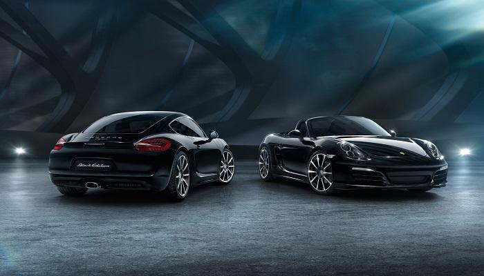 Siyah Bir Elmas Kadar Gösterişli Porsche Cayman Black Edition