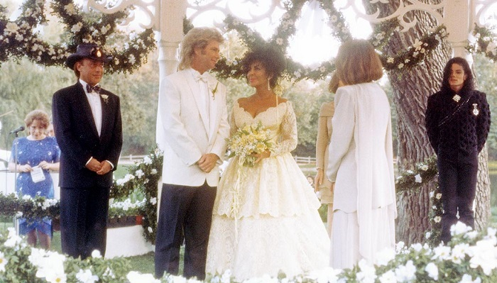 Elizabeth Taylor ve Larry Fortensky