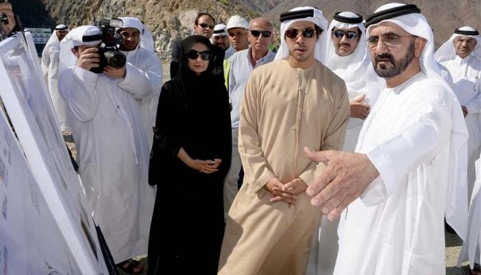 Şeyh Muhammed bin Zayed Al Nahyan ve Prenses Salama