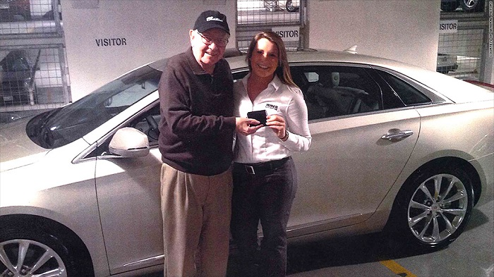 Warren Buffet - 2014 Cadillac XTS