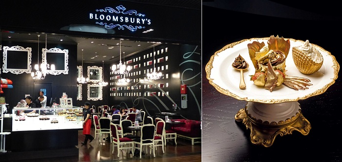 Dubai Alışveriş Merkezi'ndeki Bloomsbury Cupcake Dükkanında Bir Şeyler Atıştırabilirsiniz