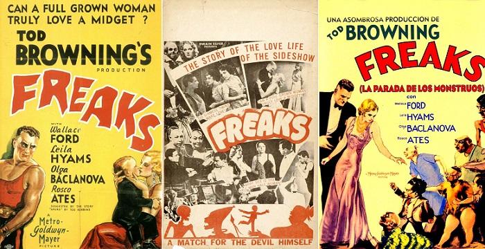 1932 Freaks (Hilkat Garibeleri) Filminin Posteri