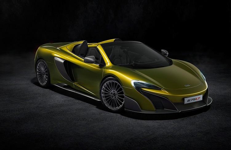 """Bu Zamana Kadar Üretilmiş En Hızlı McLaren: """"675LT Spider"""""""