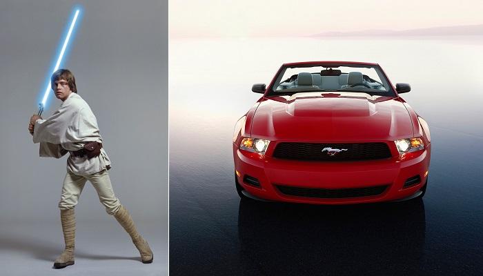 Çiftçi'nin Yeğeni: Luke Skywalker - Ford Mustang Convertible