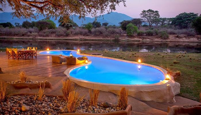 Chongwe River - House Pool