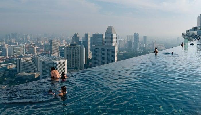Marina Bay Sands Resort - Infinity Pool