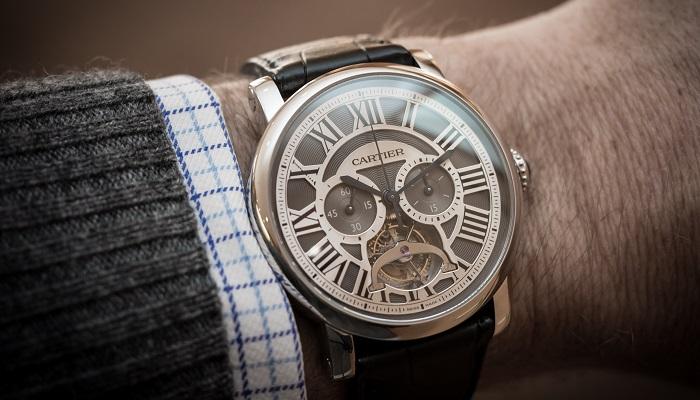 Cartier Extra Large Tortue High Compication Platinum
