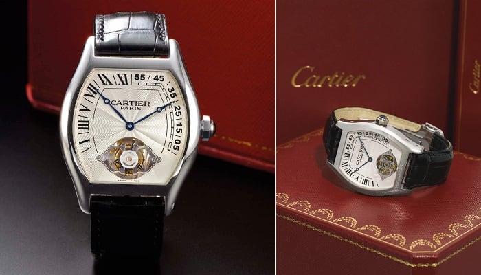 Cartier Tortue Tourbillon Ascensionnel Platinum