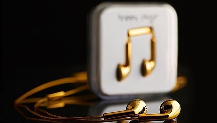 Happy Plugs Altın Kulaklık