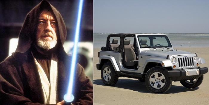 Favori Çöl Keşişimiz: Obi-Wan Kenobi - Jeep Wrangler