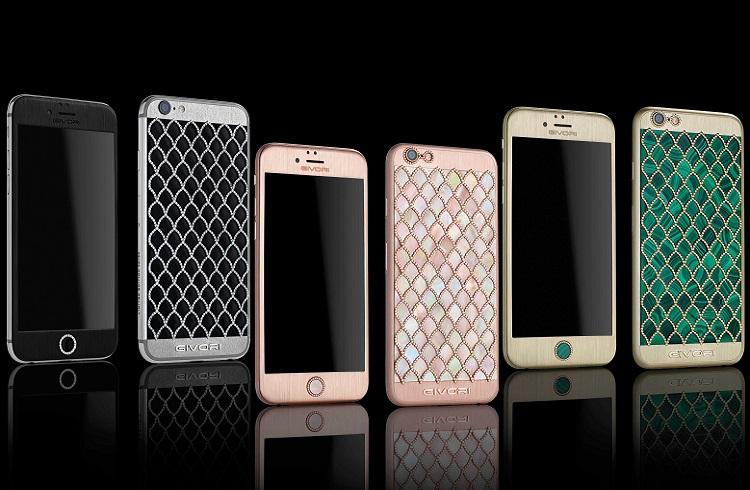 """Givori Zanaatkarlarının iPhone Tutkunlarına Hediyesi: """"Calypso Diamond iPhone 6S"""""""