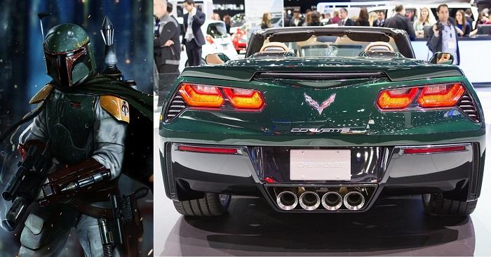 Kelle Avcısı: Boba Fett - Corvette Stingray Z06