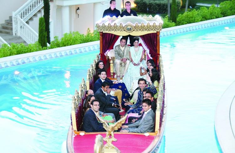 Mardan Palace'de Milyon Euroluk Hint Düğünü