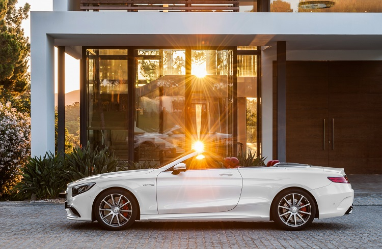 """Mercedes'ten 2017'ye Damga Vuracak Bir Otomobil: """"S Sınıfı Cabriolet"""""""