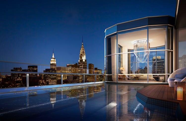 New York'da Bulunan En Pahalı 10 Çatı Katı Dairesi