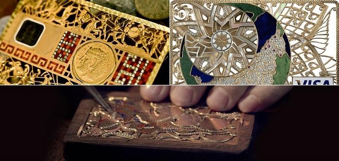 Rosan Diamond'un Eşsiz Koleksiyonundan Gösterişli Kredi Kartları