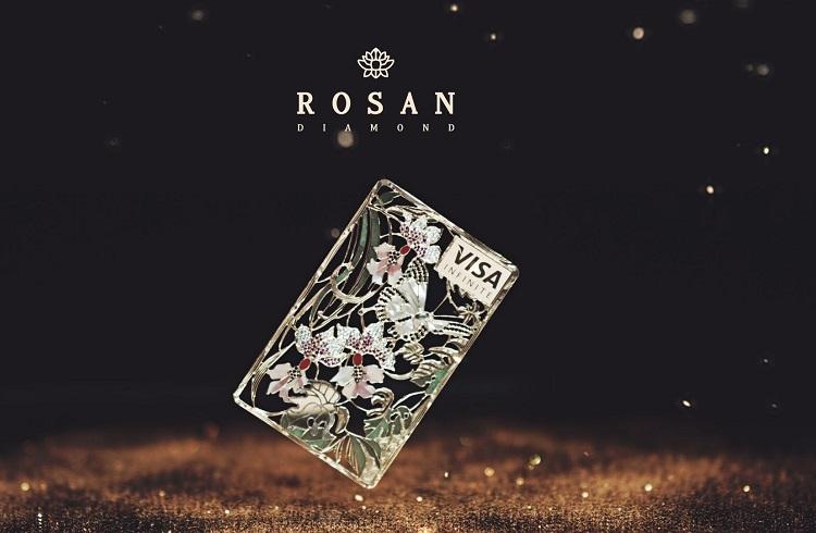 Rosan Diamond Tarafından Yapılan Sanat Eseri Niteliğindeki Kredi Kartları