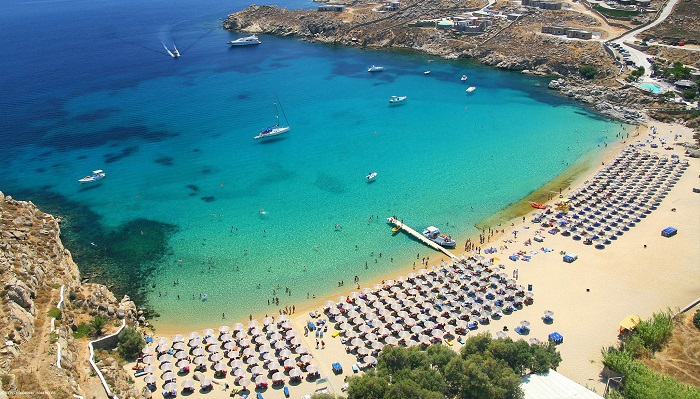 Yunanistan – Mykonos/Paradise Beach