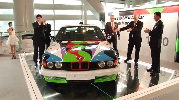 Cesar Manrique - BMW 730i