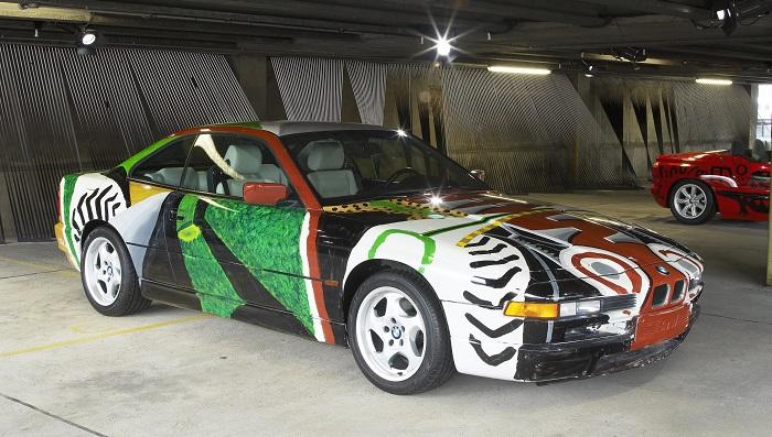 David Hockney - BMW 850 CSi