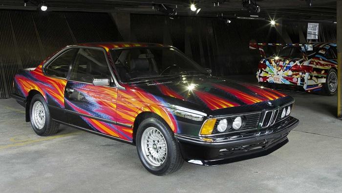 Ernst Fuchs - BMW 635 CSi